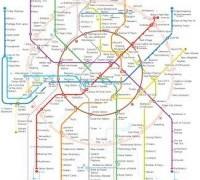 схема метро Москвы с расчётом времени в пути 2018