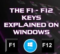 как с клавишами F1-F12 управляться с компьютером будет гораздо быстрее