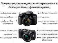 Какой фотоаппарат выбрать — зеркальный или компактный?